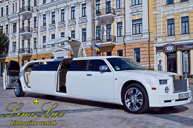 заказ, прокат, аренда лимузина РОЛС-РОЙС\ROLLS-ROYCE PHANTOM