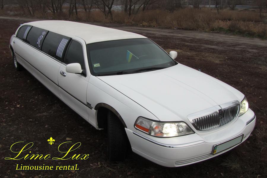 заказ, аренда лимузина линкольн (Lincoln) на свадьбу, день рождения, прогулку