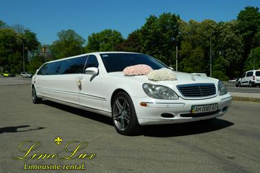 аренда, прокат, заказ лимузина Мерседес (Mercedes)
