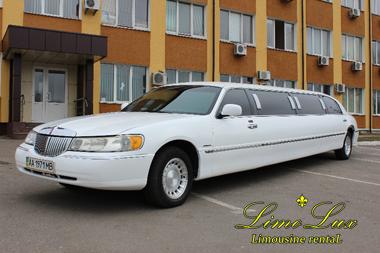заказ, аренда лимузина на свадьбу, день рождения Линкольн (Lincoln)